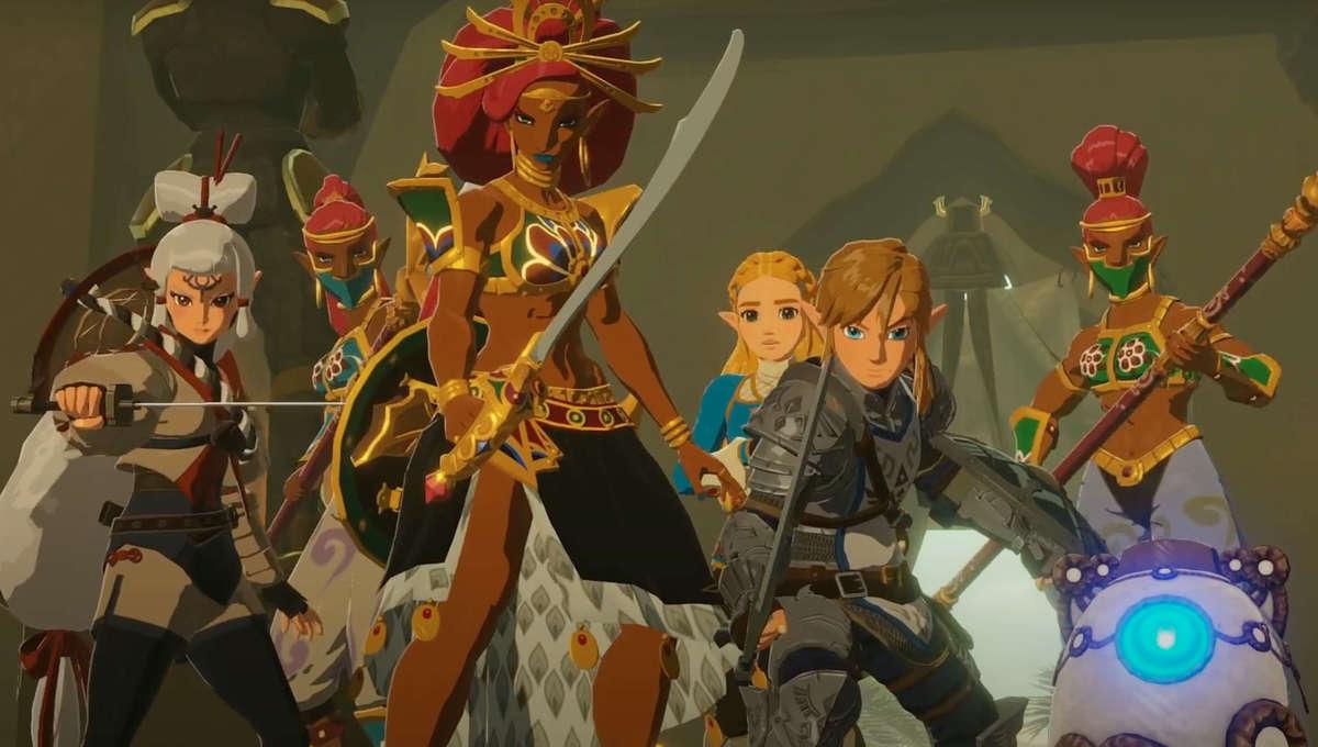 Zelda heroes assemble in Hyrule Warriors Age of Calamity Nintendo game
