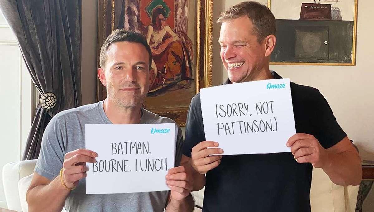 Matt Damon and Ben Affleck Omaze
