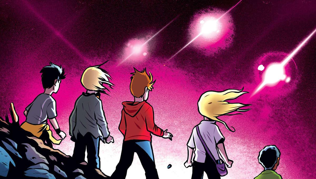 Animorphs Graphic Novel Cover
