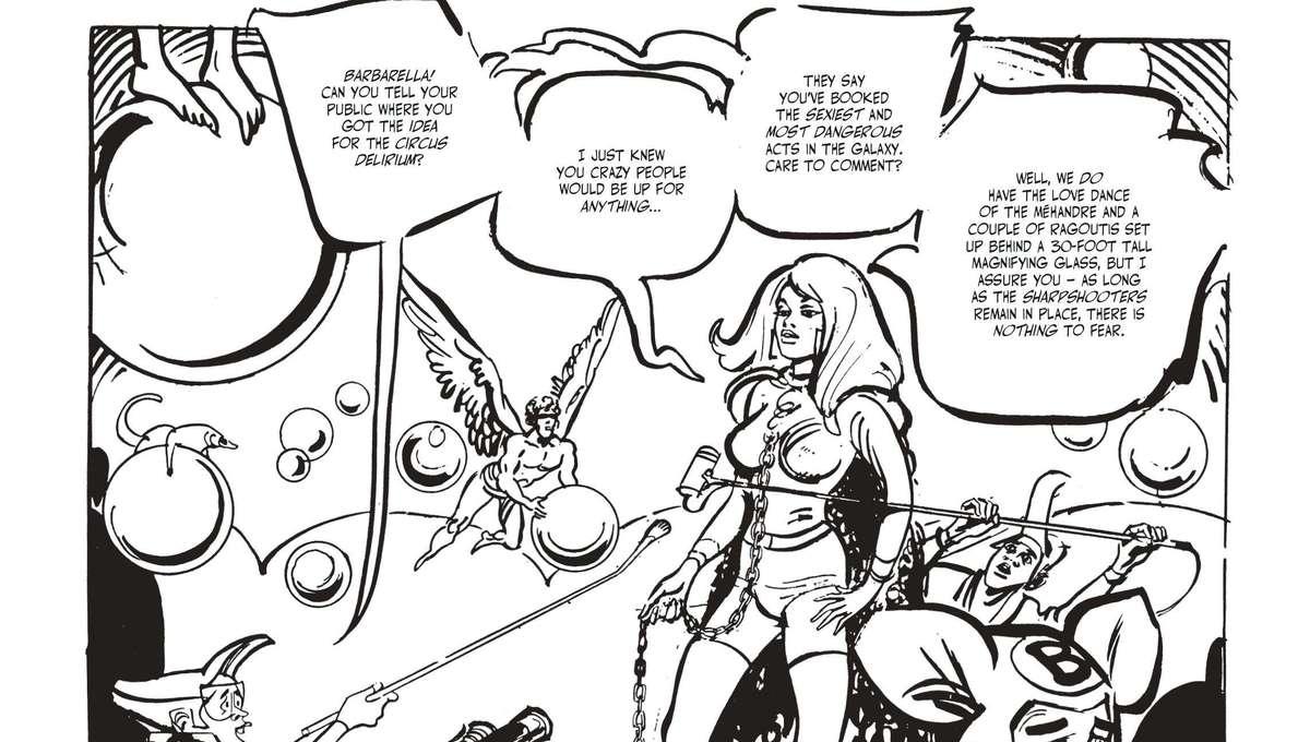 Barbarella page 1
