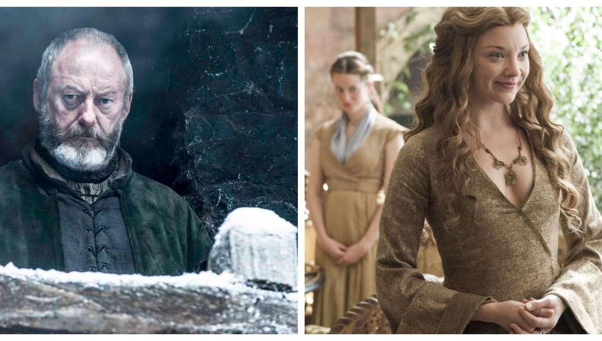 Game of Thrones Liam Cunningham and Natalie Dormer