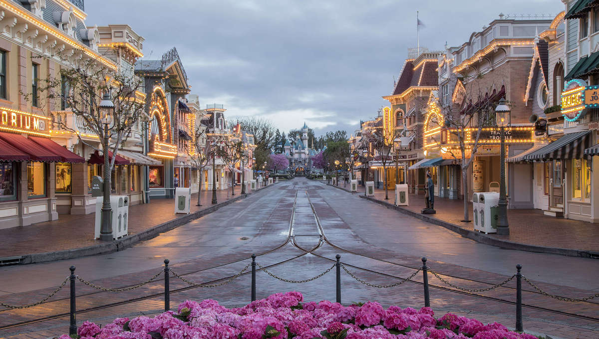 Main Street, U.S.A. at Disneyland Park