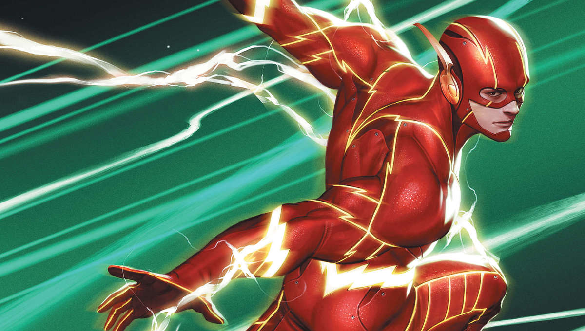 The Flash #763, variant cover