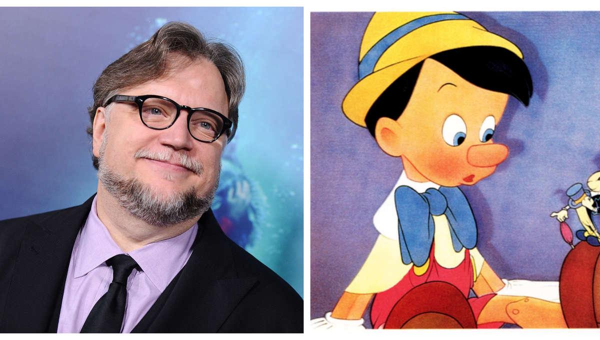 Guillermo del Toro & Pinocchio