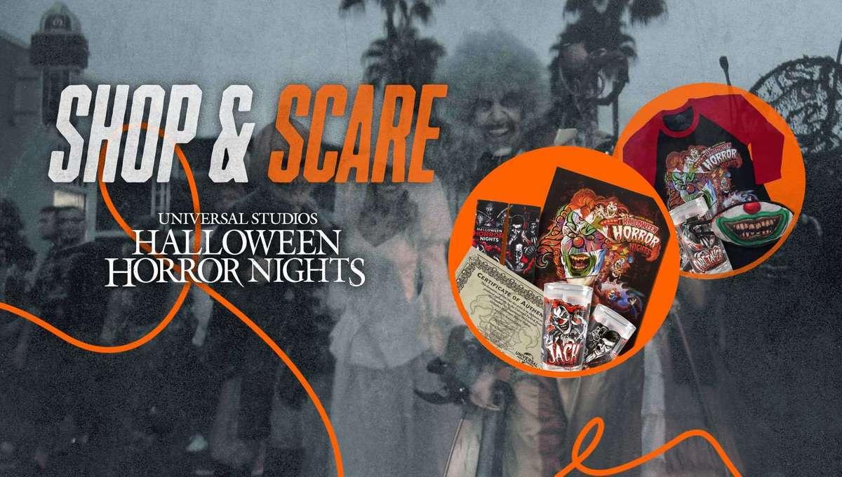 Halloween Horror Nights: Shop & Scare