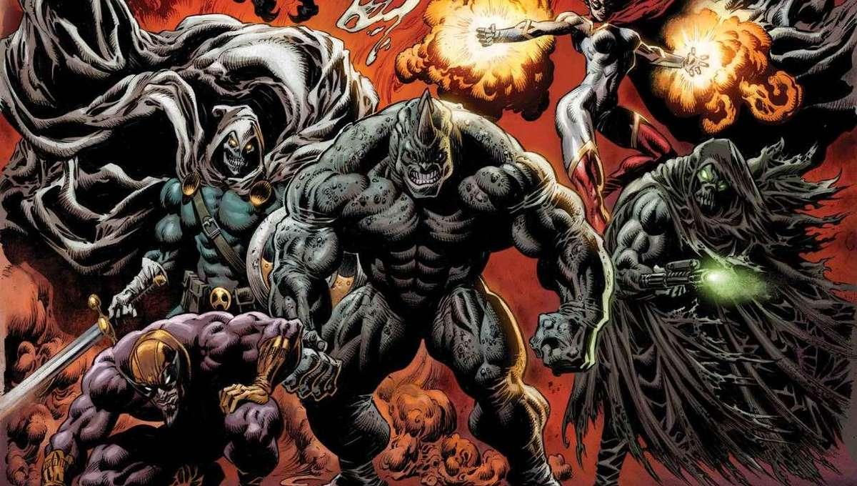 King in Black: Thunderbolts #1 (of 3) - Matthew Rosenberg (W), Juan Ferreyra (A), Kyle Hotz (CA)