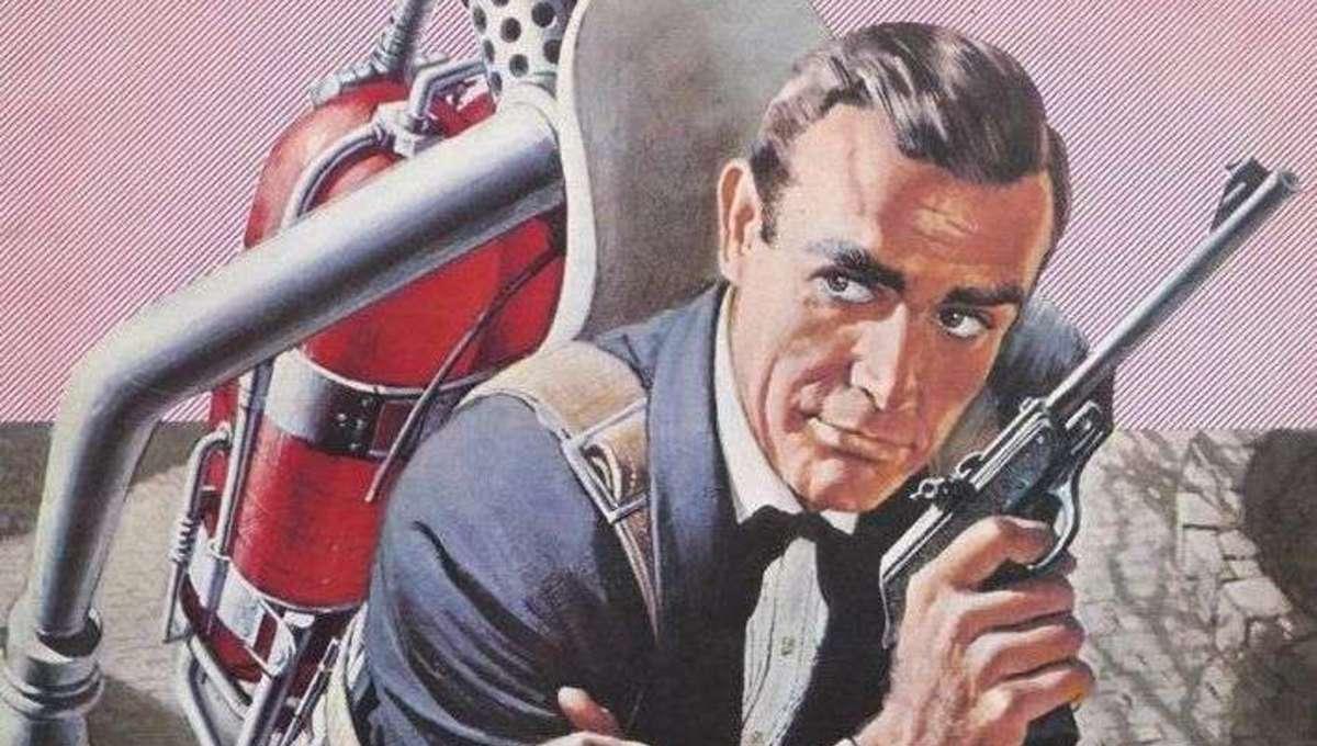 James Bond rocketpack