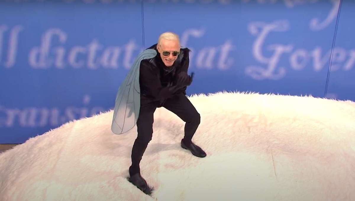 Jim Carrey Joe Biden Fly SNL