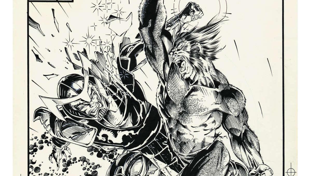 Jim Lee's X-Men Artists Edition - Uncanny X-Men #258 Cover
