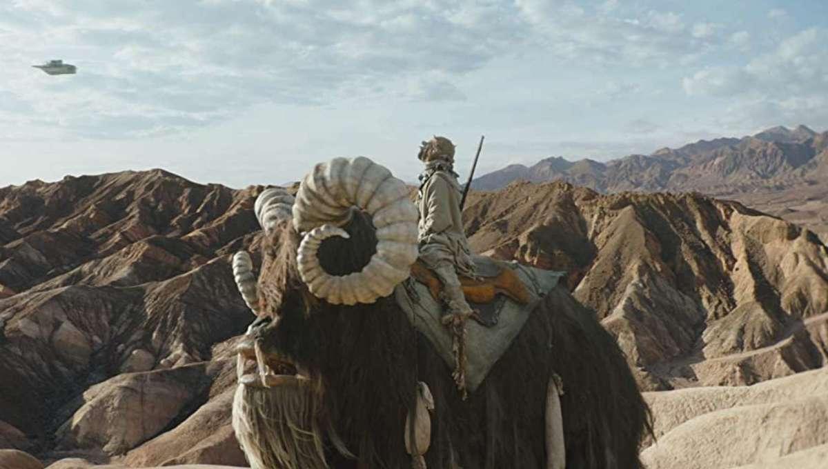The Mandalorian - Tusken Raider on Bantha