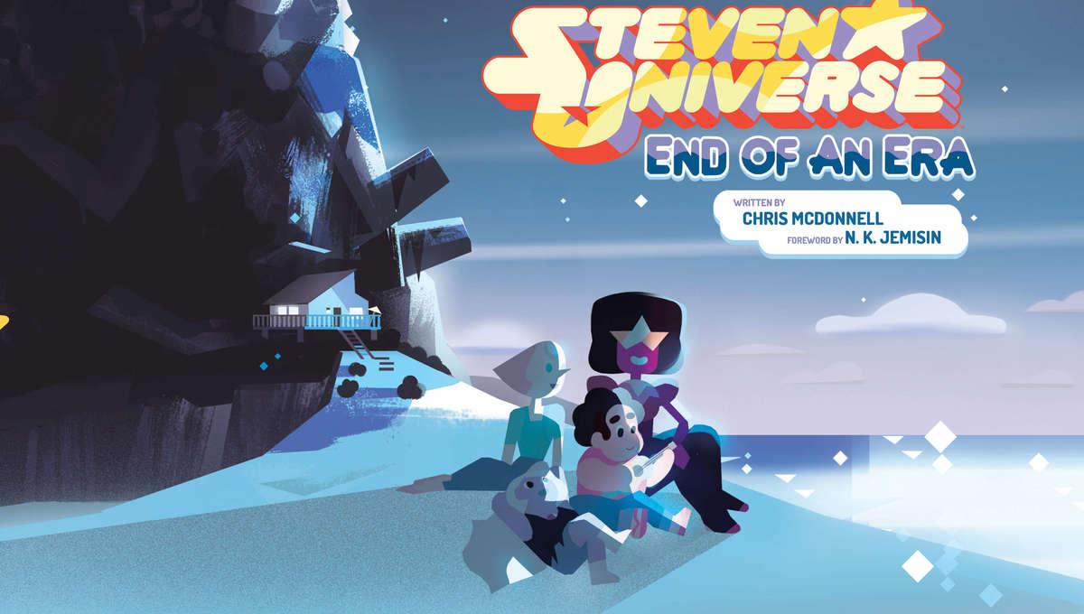 Steven Universe End of An Era Art Book Cover