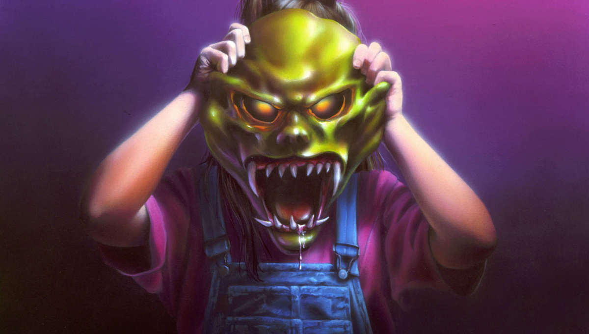 Art from Goosebumps: The Haunted Mask