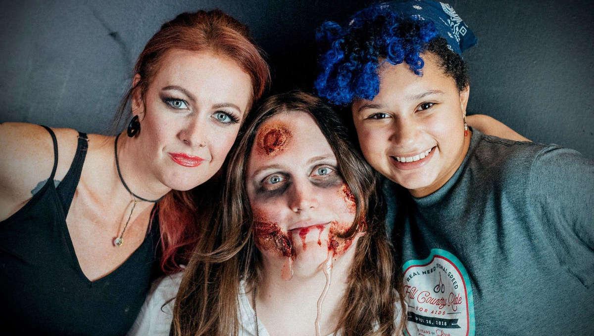 Teacher: Jennifer Gunningham, Student: Dorothy; Model: Macy; Photo: Casey Tang