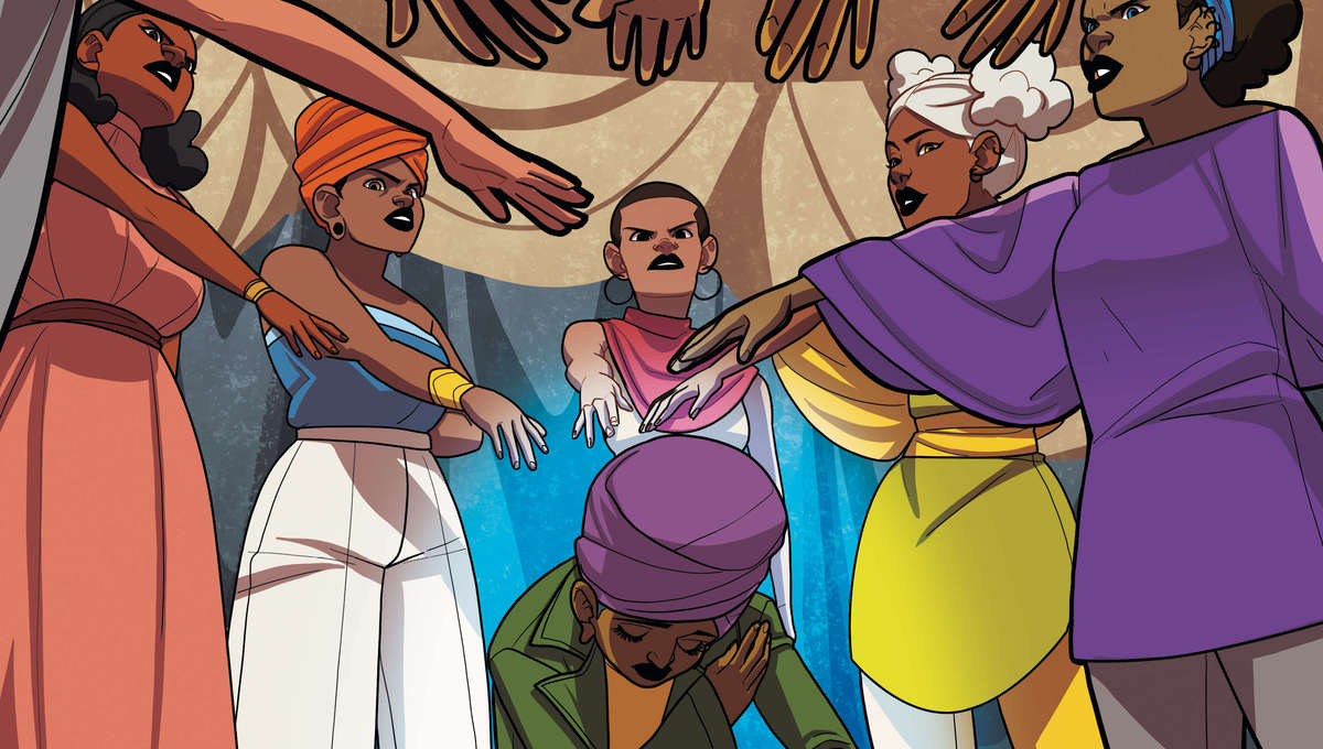 Super Sons: Escape to Landis - Preview Page 1