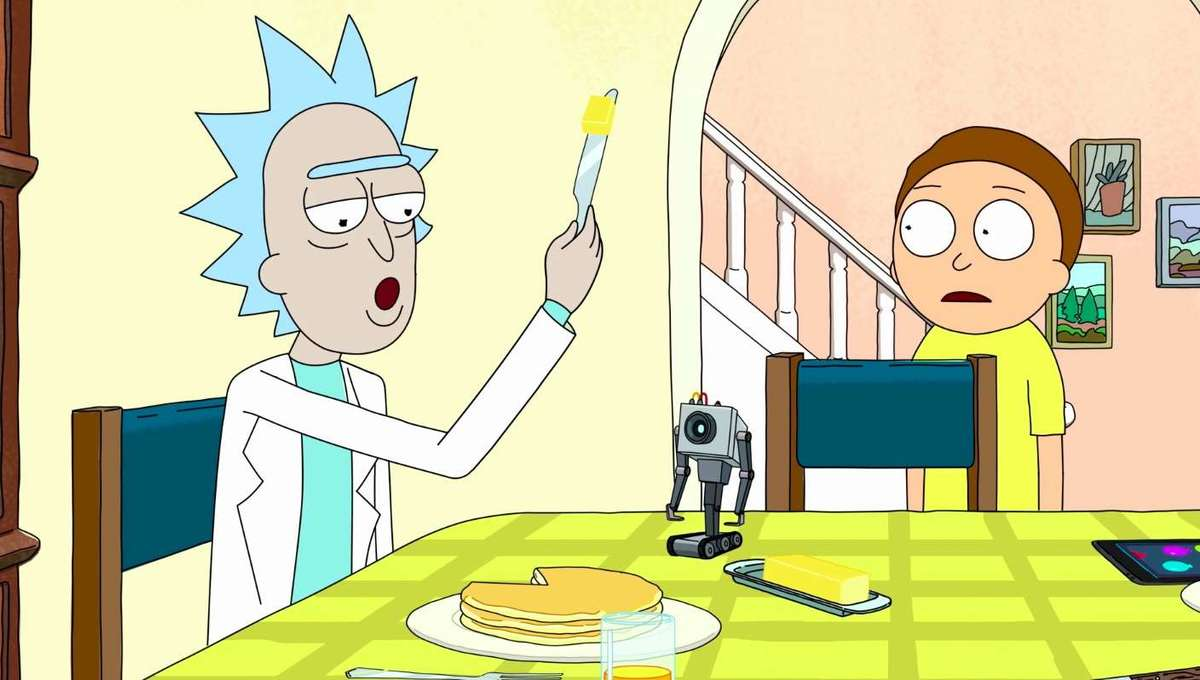 Butter Robot Rick and Morty