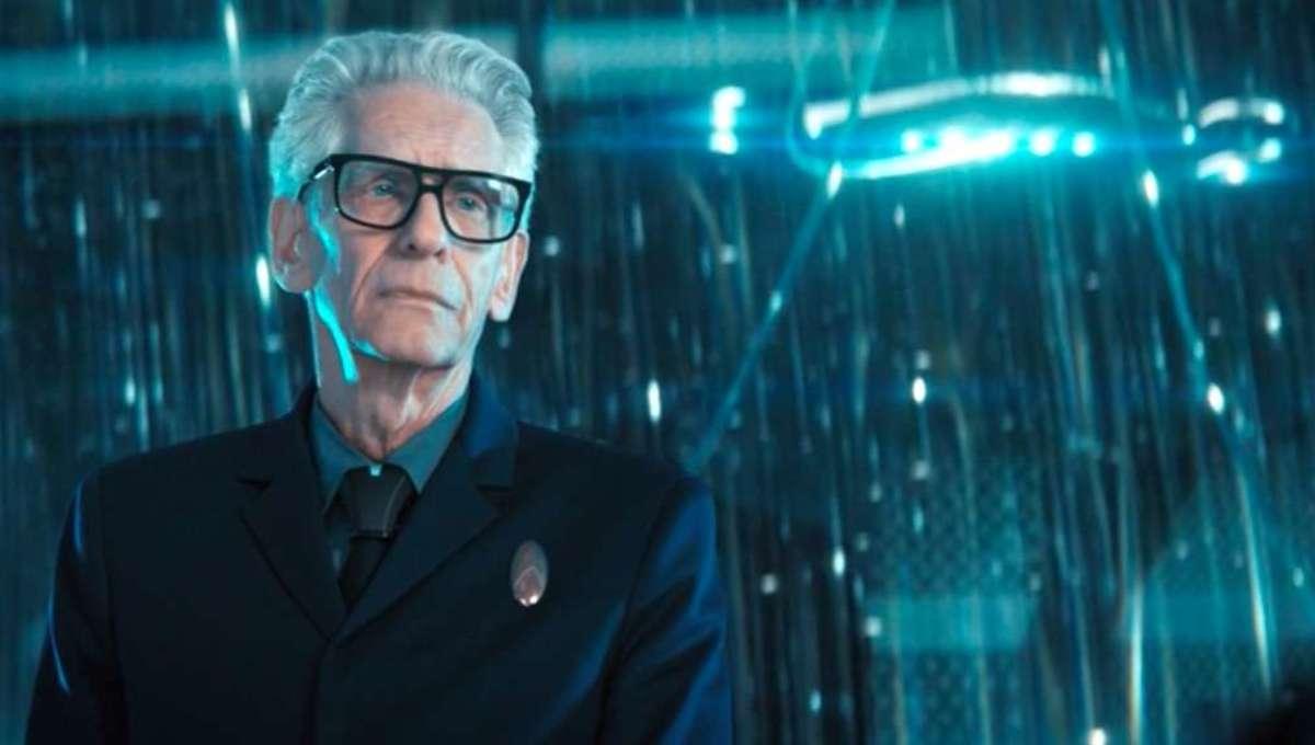 David Cronenberg Discovery clip screenshot