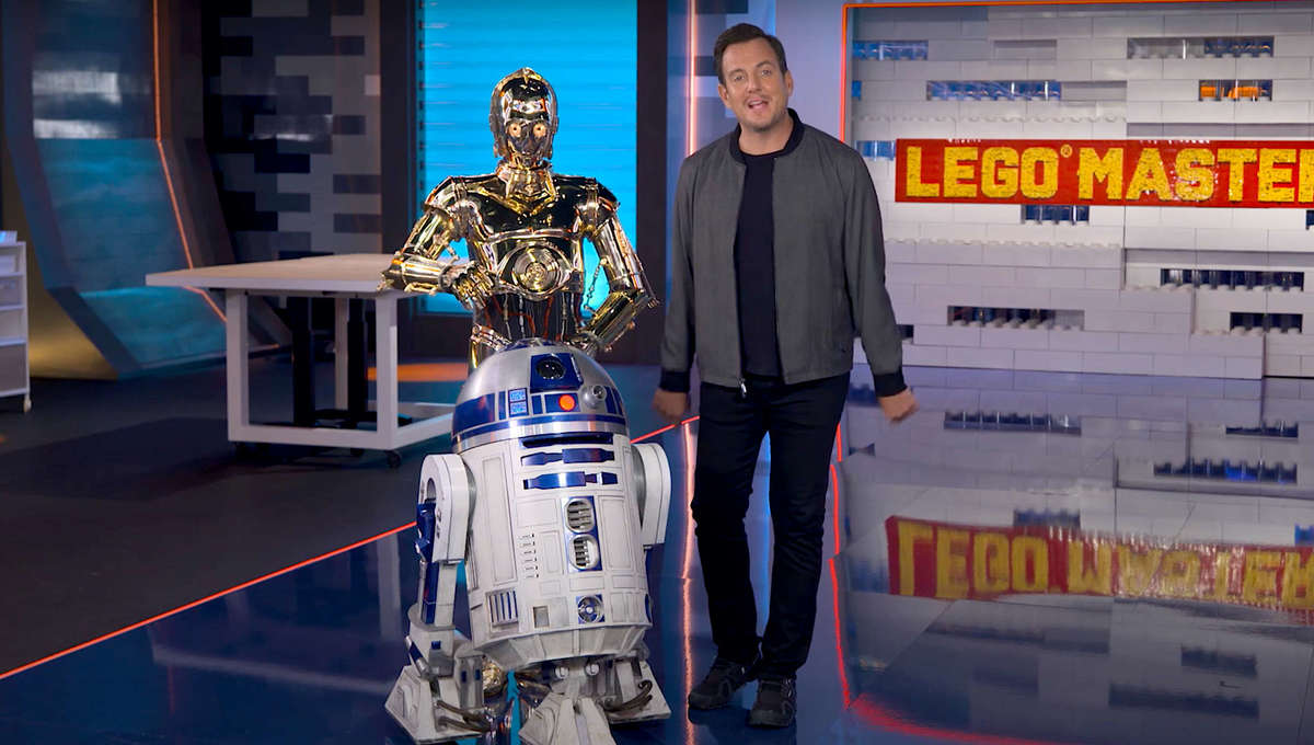 LEGO Masters with Will Arnett