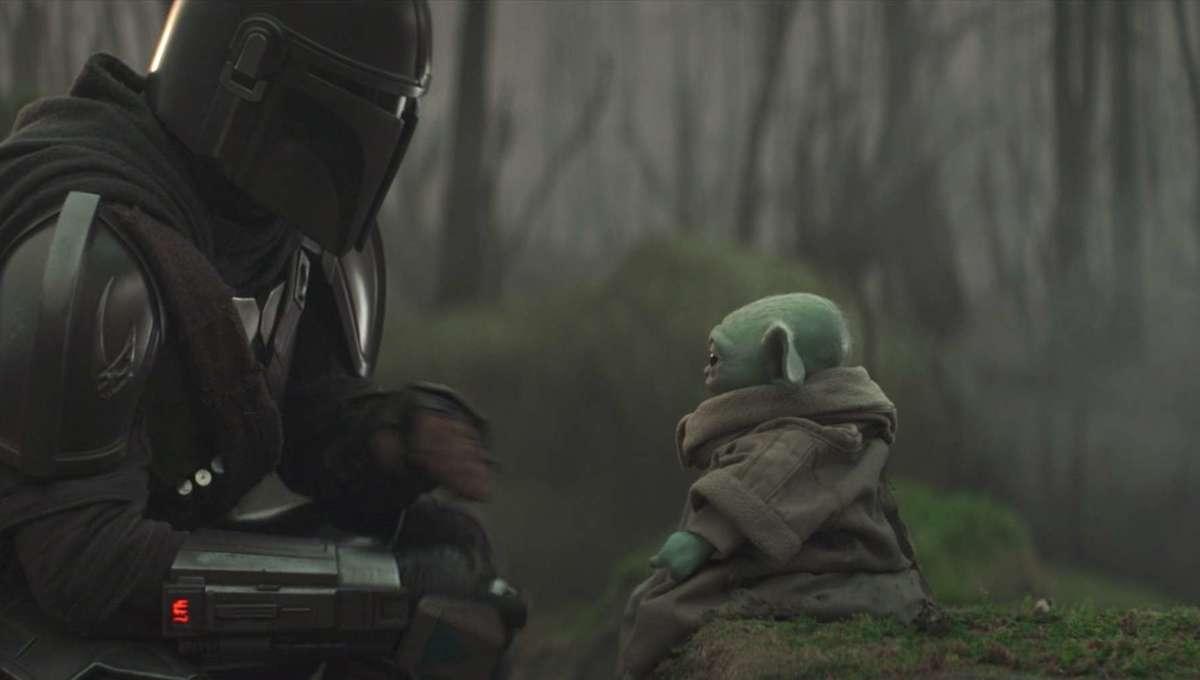 Mando and Baby