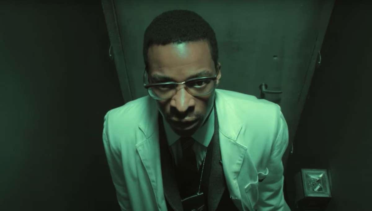 Screenshot of Lucius Fox in Pennyworth Season 2 trailer