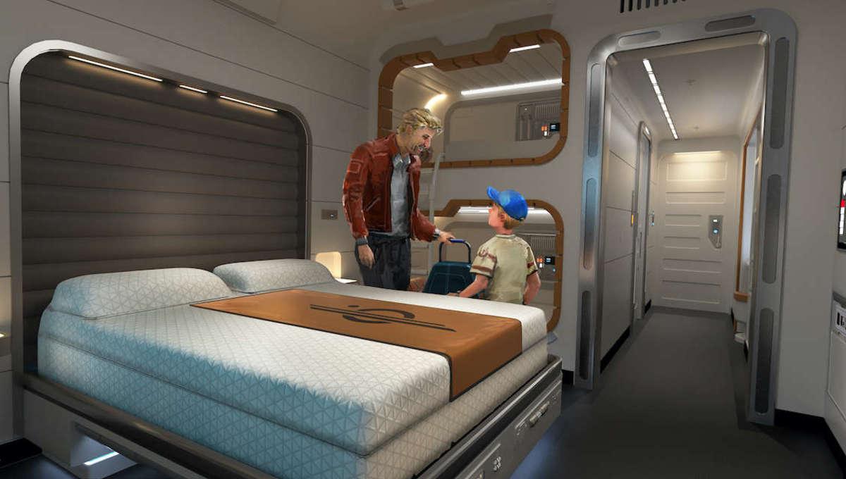 Star Wars Galactic Starcruiser Cabin