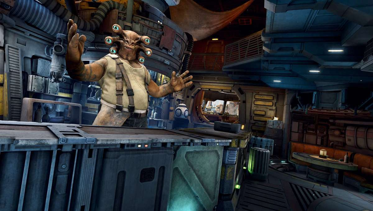 Star Wars_ Tales from the Galaxy's Edge - Cantina