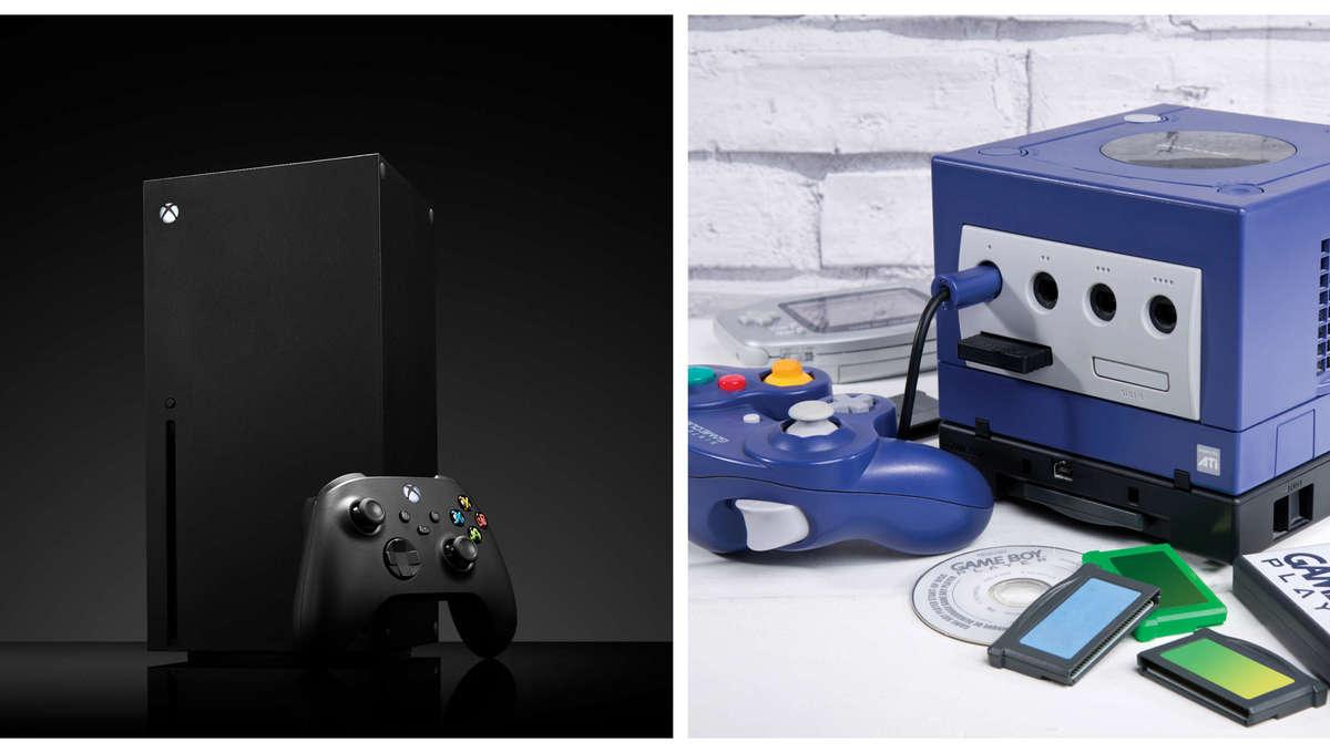 Xbox Series X & GameCube