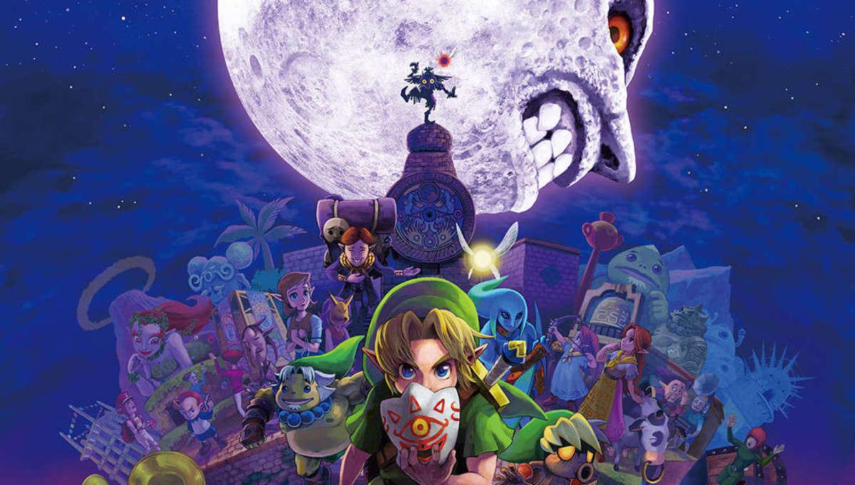 The Legend of Zelda Majoras Mask Moon poster