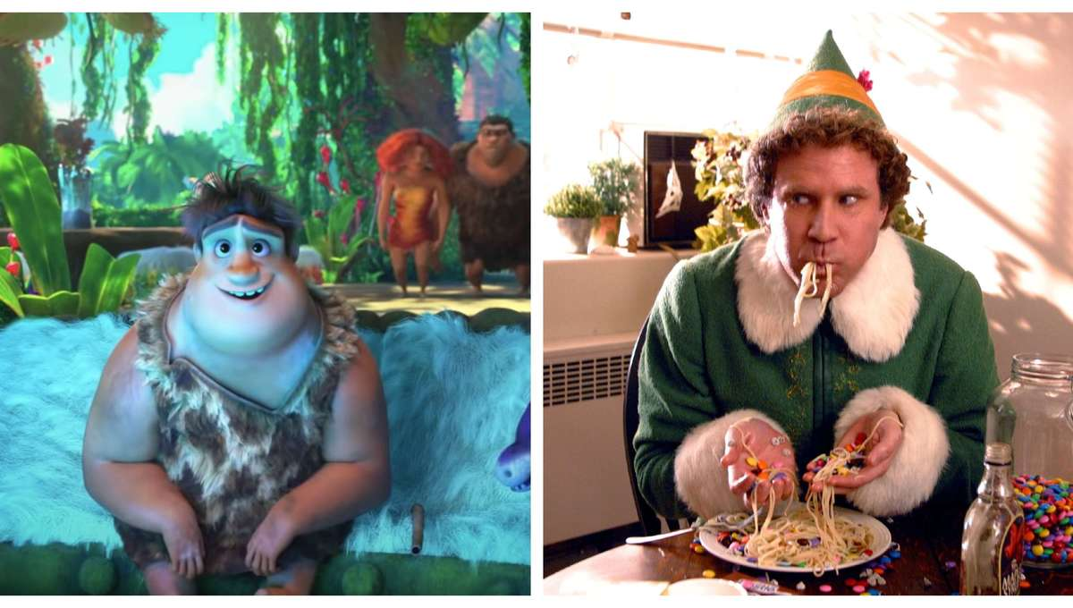 The Croods A New Age & Elf