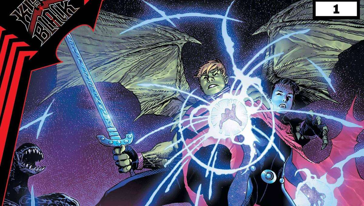 King in Black Wiccan and Hulkling cove
