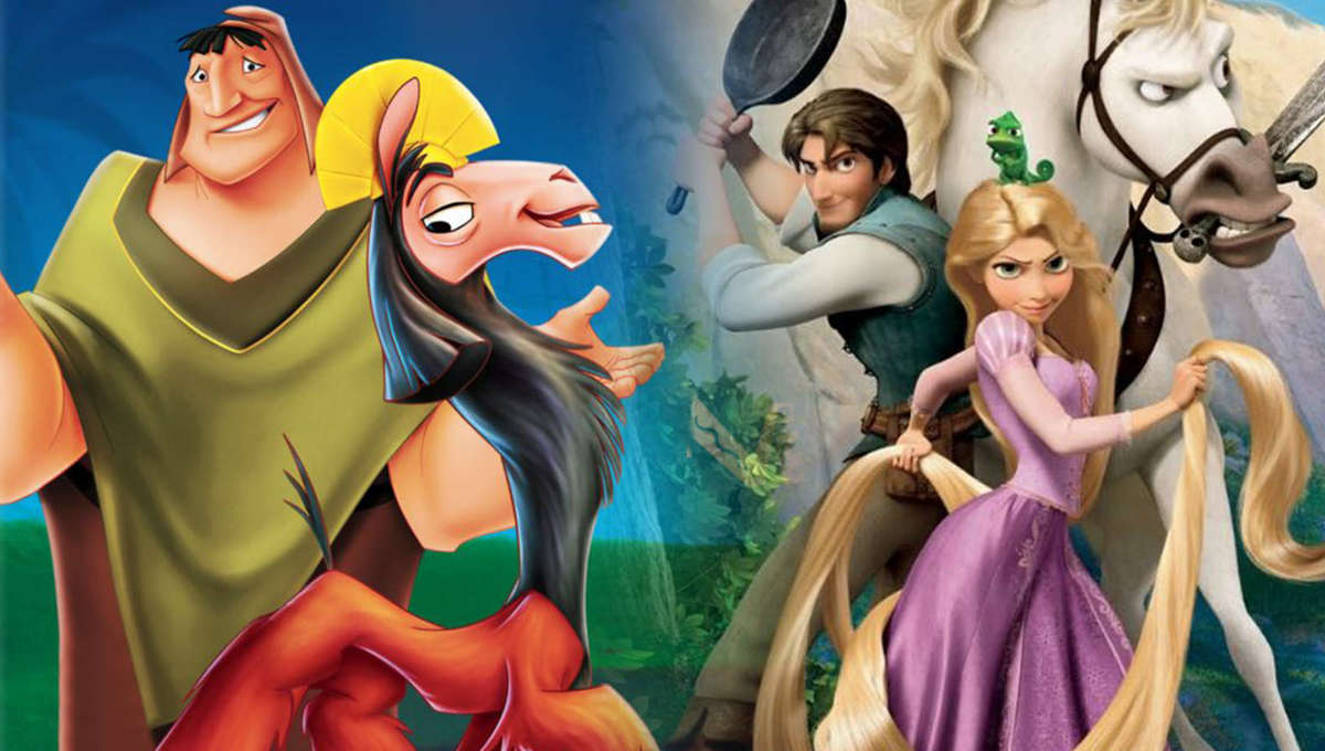 Tangled and The Emperor's New Groove