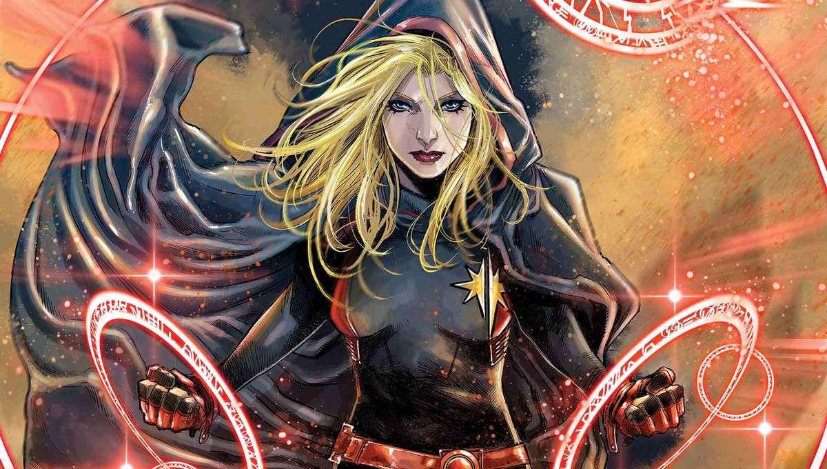 Captain Marvel 28 cover