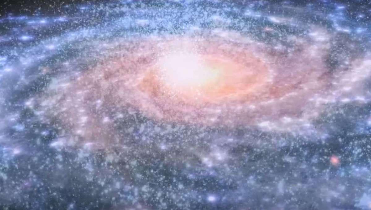 ESA Gaia image of the Milky Way