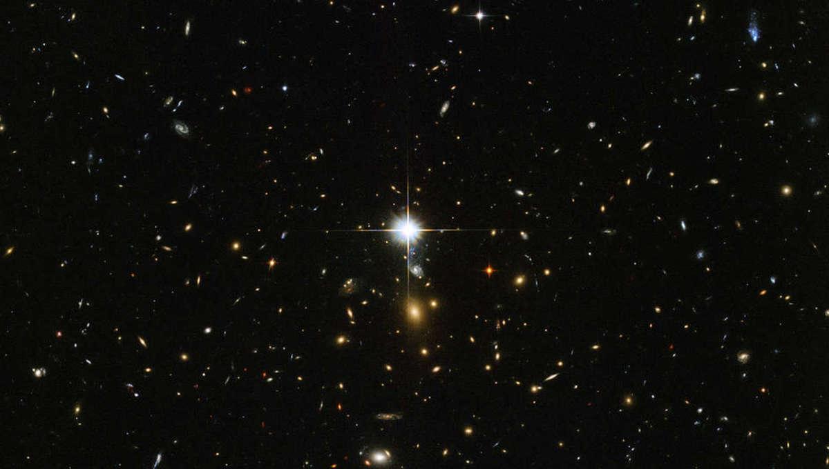 NASA Hubble image of distant stars