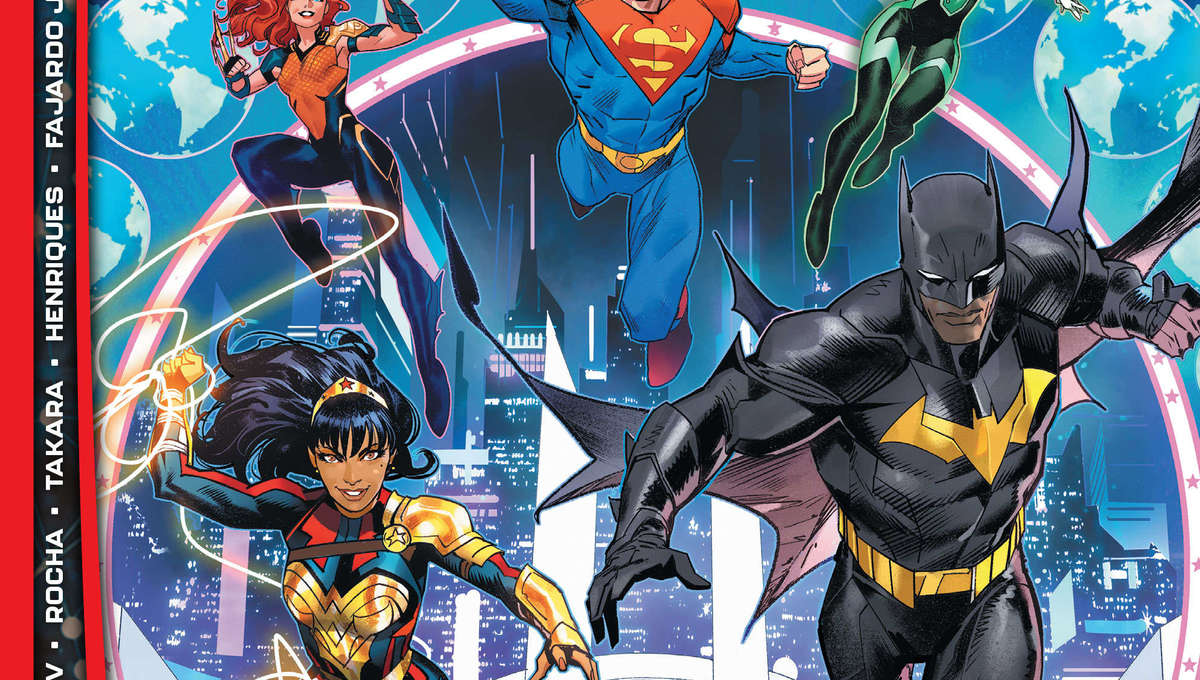 Future State: Justice League cover