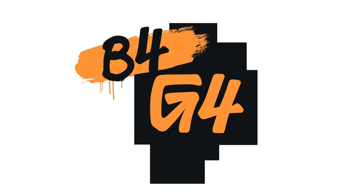 B4G4 Logo for G4 TV