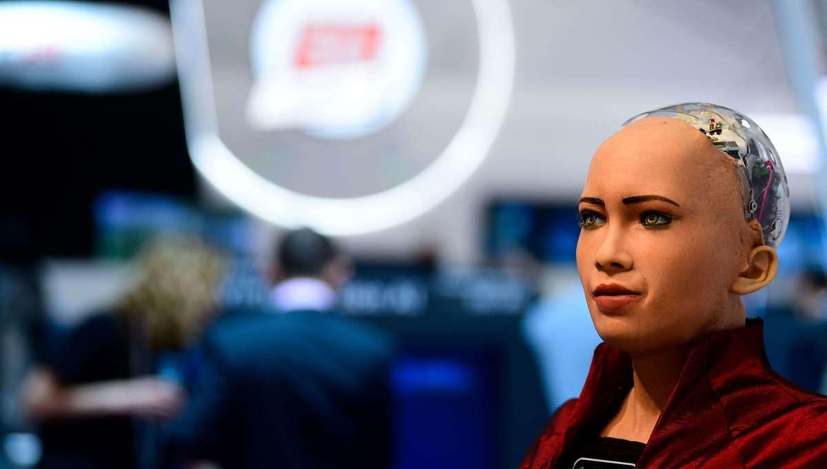 Sophia the social robot