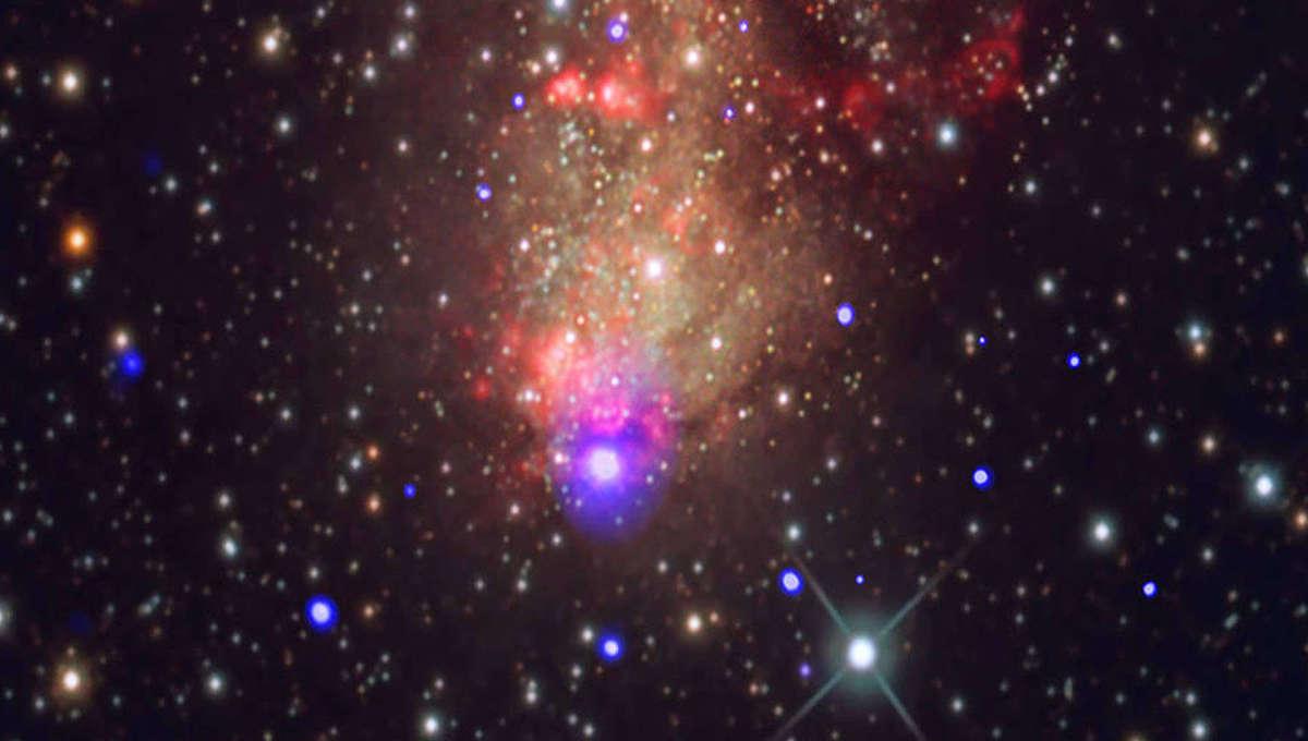 NASA image of galaxy IC 10