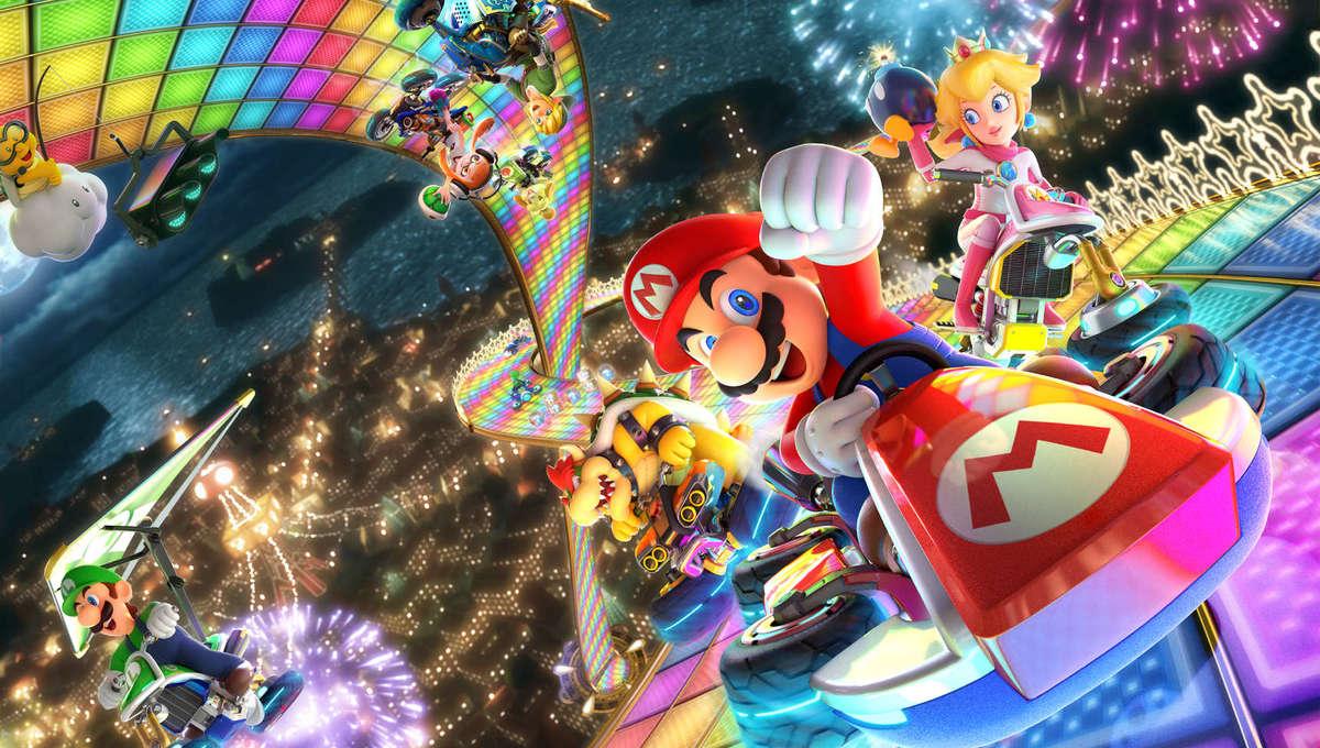 Mario in Mario Kart 8 Deluxe