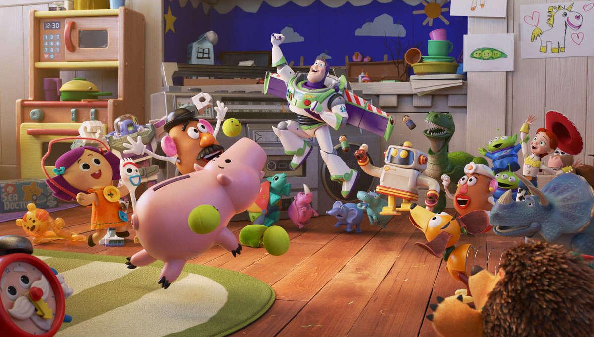 Pixar Popcorn Toy Story cast