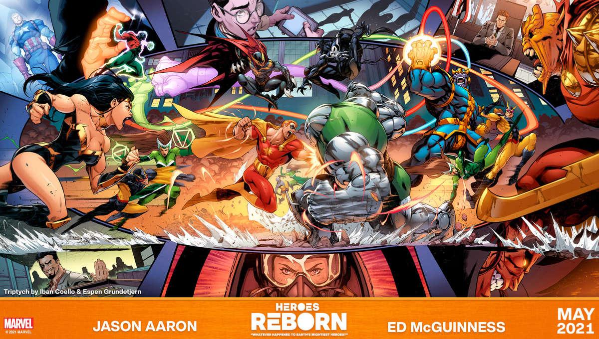 Heroes Reborn promo art