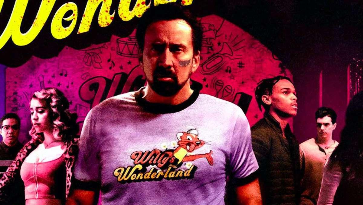 Nicolas Cage Willy's Wonderland