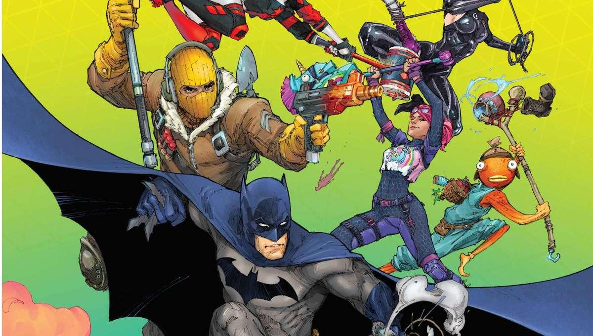 Batman Fortnite cover 2