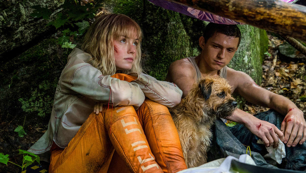 Chaos Walking - Daisy Ridley and Tom Holland