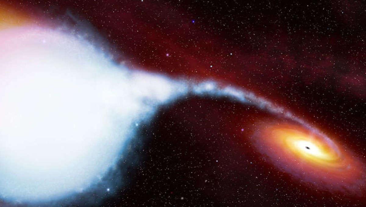 Cygnus X-1 binary star system