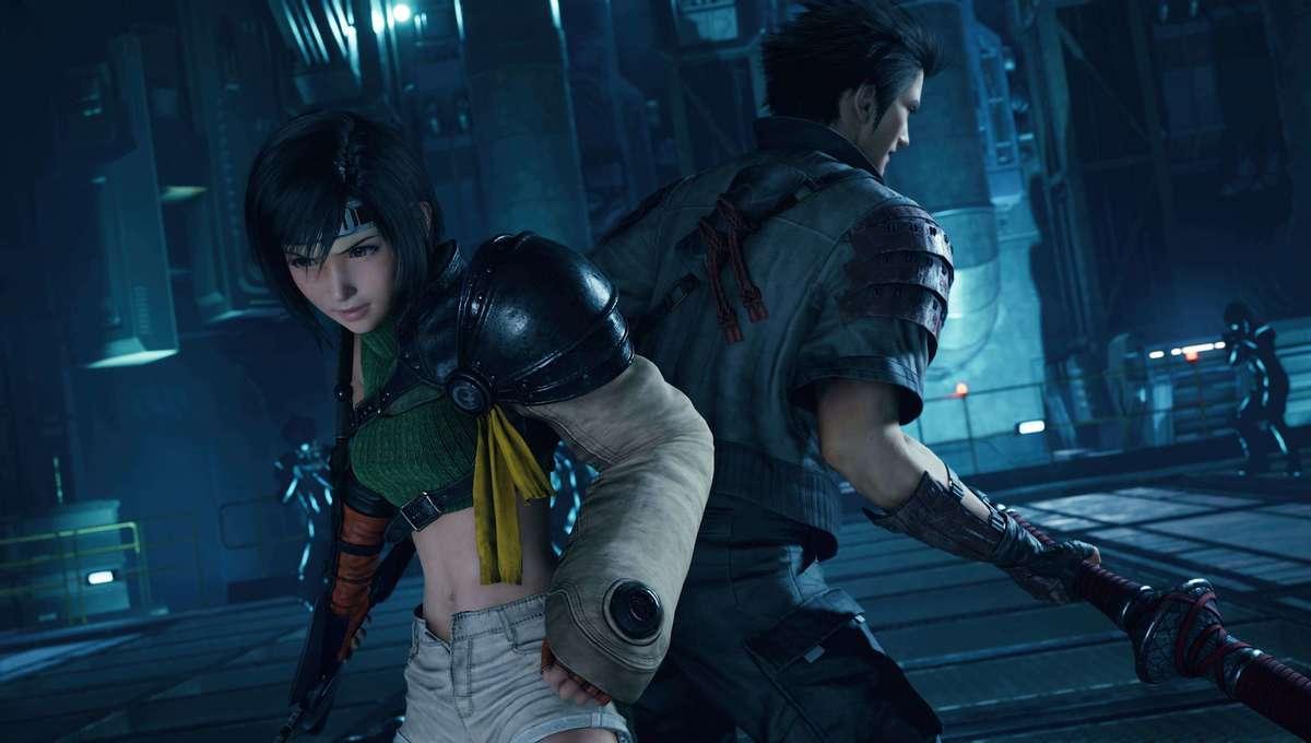 Yuffie and Sonon in Final Fantasy VII Remake Intergrade