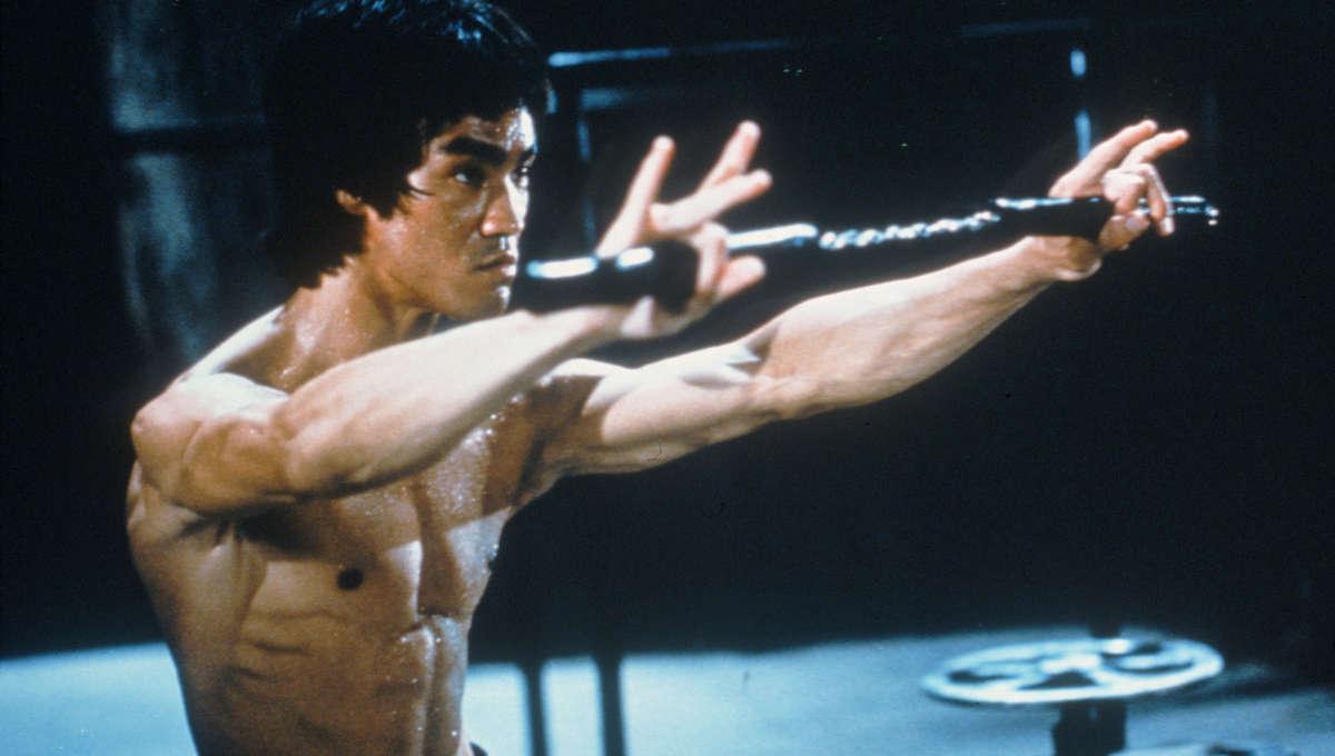 Bruce Leein Enter The Dragon