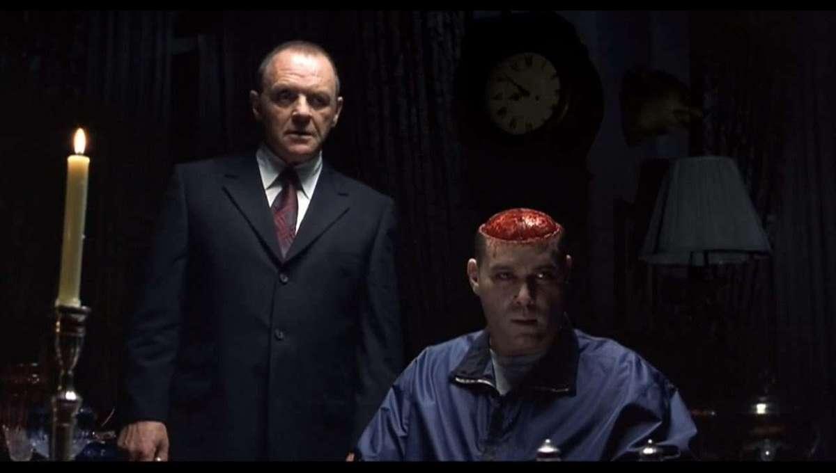 Hannibal Brain Scene