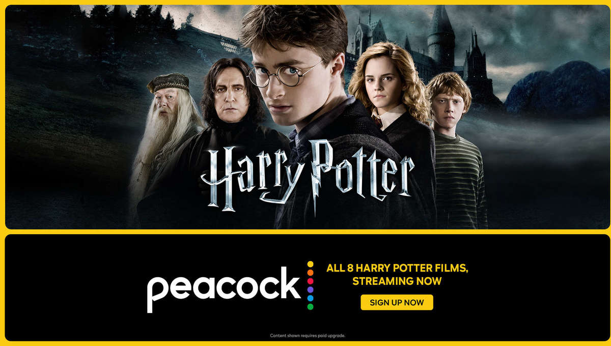 Harry Potter on Peacock