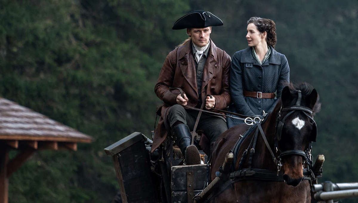 Claire and Jamie in Outlander Season 6 first look