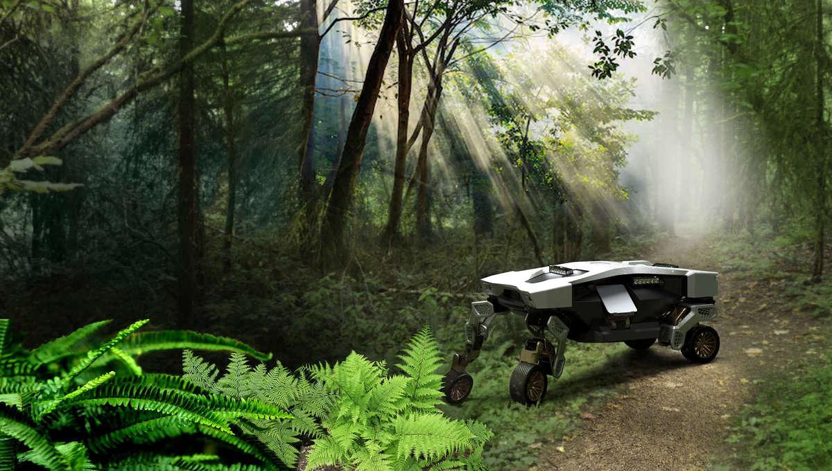 TIGER walking car concept from Hyundai